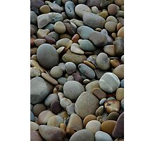 Pebbles at Silver Sands Photographic Print
