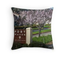 Fort Mason Throw Pillow