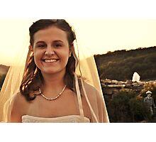 Bride! Photographic Print