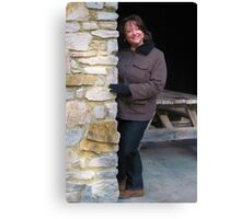 Laurie - My Sister Canvas Print