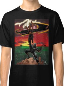 Black Panther & Storm Classic T-Shirt