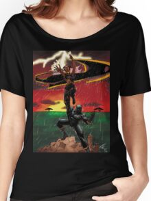 Black Panther & Storm Women's Relaxed Fit T-Shirt