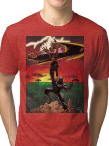 Black Panther & Storm Tri-blend T-Shirt