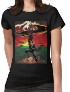 Black Panther & Storm Womens Fitted T-Shirt