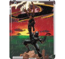 Black Panther & Storm iPad Case/Skin