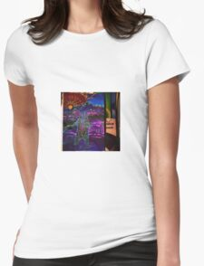 Spirit bear digital prints various styles available  Womens Fitted T-Shirt