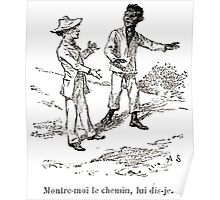 Achille Sirouy Mark Twain Les Aventures de Huck Huckleberry Finn illustration p129 Poster