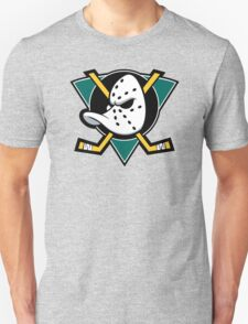 Mighty Ducks of Anaheim NHL Hockey League Long Sleeve Black T-Shirt T-Shirt