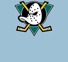 Mighty Ducks of Anaheim NHL Hockey League Long Sleeve Black T-Shirt T-Shirt