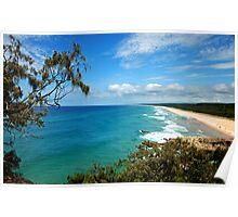 Point Lookout - Stradbroke Island Poster
