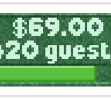 RCT 2 420 Guest Count Sticker