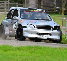 Vauxhall Corsa No 12 by Willie Jackson