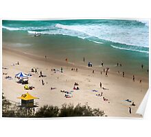 Summer Holidays at Surfers Paradise Poster