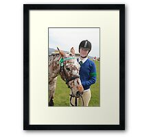 Pretty Twosome - Royal Hobart Show 2011 Tasmania Framed Print