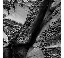 Rock Formations, Salt Point State Park, California Photographic Print