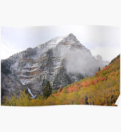 Peak Of Autumn Poster