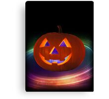 Space Pumpkin Canvas Print