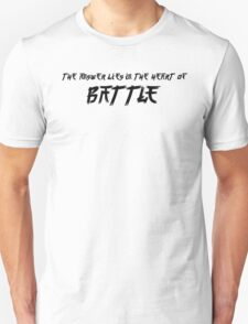 The Answer Lies In The Heart Of Battle T-Shirt