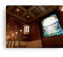 Wade Chapel {interior} Canvas Print