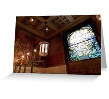Wade Chapel {interior} Greeting Card