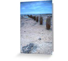 Rustic Concrete Greeting Card