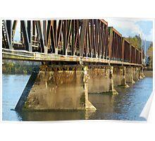 Bridging the Fraser River Poster