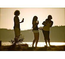 Summer Gathering Photographic Print
