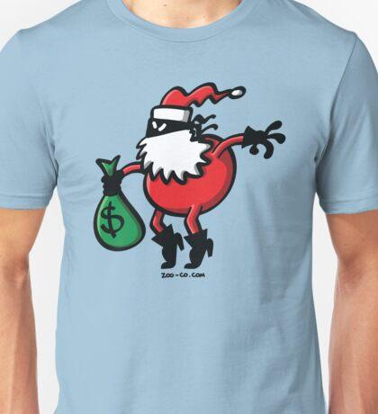 Santa Claus or Thief? Unisex T-Shirt
