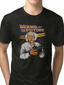 Bernie For The Future Tri-blend T-Shirt