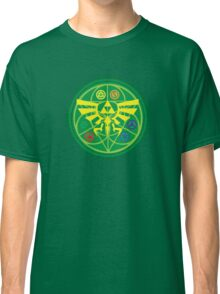 Zelda Ocarina of Time Emblem  Classic T-Shirt