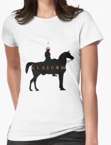 Glasgow Duke of Wellington Statue Womens Fitted T-Shirt