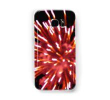 Firework black sky Samsung Galaxy Case/Skin