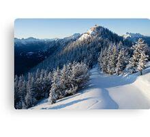 Sulphur Mountain Canvas Print