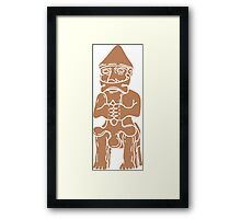 Thor Statue from Iceland Framed Print