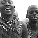 Maasai Tribesmen by Jill Fisher