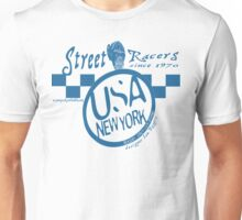 racers usa ny by rogers bros Unisex T-Shirt