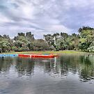 The Boating Lake. by Lilian Marshall