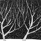 Winter Forest by Aleksandra Kabakova