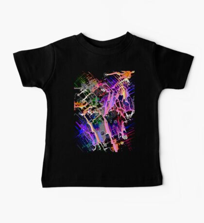 Climate Change series - Urban Flooding  Digitally Altered Baby Tee