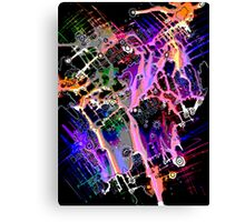 Climate Change series - Urban Flooding  Digitally Altered Canvas Print