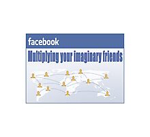Imaginary Friends Photographic Print