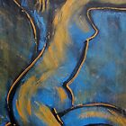Blue Caryatid - Nudes Gallery by CarmenT