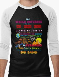 Big Bang Men's Baseball ¾ T-Shirt
