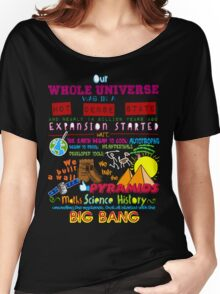 Big Bang Women's Relaxed Fit T-Shirt