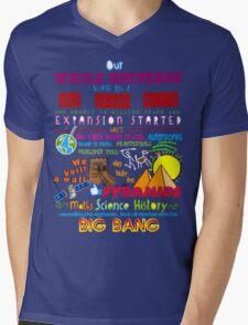 Big Bang Mens V-Neck T-Shirt