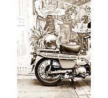 Cosmopolitan Side Street Photographic Print