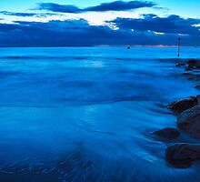 Sandbanks - Twilight Blue by delros