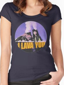 Lava Women's Fitted Scoop T-Shirt
