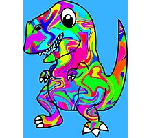 Colorful Dinosaur Photographic Print