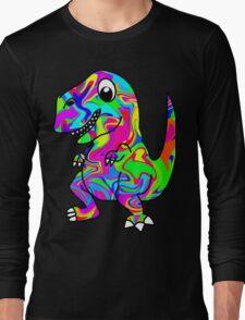 Colorful Dinosaur Long Sleeve T-Shirt